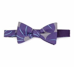 Massimo Bizzocchi - Pre-Tied Floral-Print Bow Tie