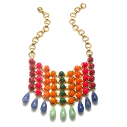 Dannijo - Gradient Bib Necklace