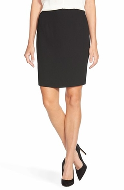 CeCe by Cynthia Steffe - Crepe Pencil Skirt