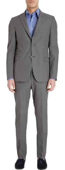 BARNEYS NEW YORK - Two-Button Suit Jacket