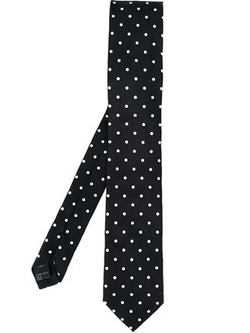 Dolce & Gabbana   - Embroidery Dot Tie