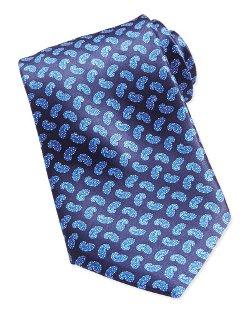 Stefano Ricci   - Paisley-Print Woven Silk Tie
