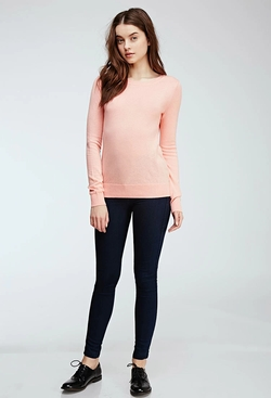 Forever 21 - Classic Crew Neck Sweater