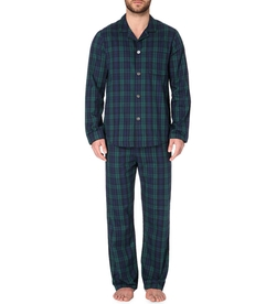 Derek Rose - Checked Cotton Pyjama Set