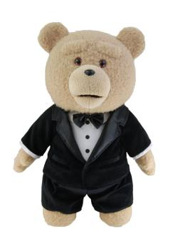 Ted  - Ted in Tuxedo Plush Toy with Sound