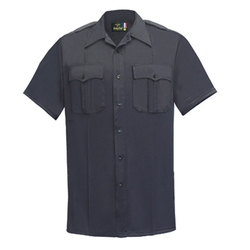 Flying Cross  - Short Sleeve Poly Cotton Mens Shirt