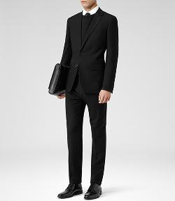 Reiss - Two Button Wool Suit