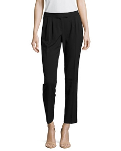 Laundry by Shelli Segal - Ponte Pleated Pants