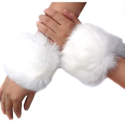 ECOSCO Warmers  - Fur Wrist Band Cuff