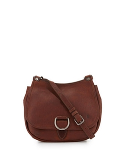Frye  - Amy Leather Flap Crossbody Bag