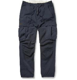 NEIGHBORHOOD   - RELAXED-FIT COTTON CARGO TROUSERS
