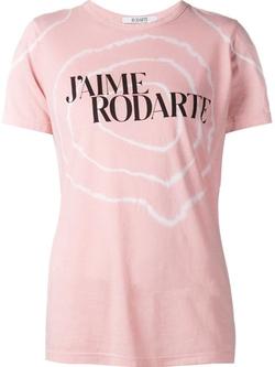Rodarte  - Slogan Print T-Shirt