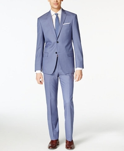 DKNY - Solid Extra Slim-Fit Suit