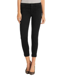 J Brand Jeans - Anja Luxe Sateen Cropped Pants