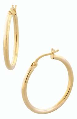 Bony Levy - 14k Gold Hoop Earrings