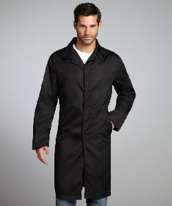 PRADA  - Black Three Quarter Length Raincoat