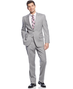 Michael Kors - Suit Light Grey Stripe Suit