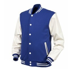 Angel Cola  - Varsity Leather Baseball Letterman Jacket