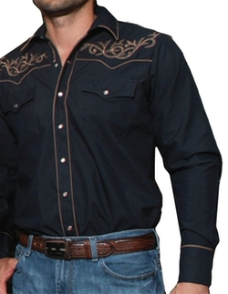 Modestone  - Embroidered Long Sleeved Shirt