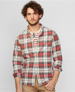 Ralph Lauren Denim & Supply - Plaid Oscar Sport Shirt
