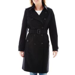 Liz Claiborne - Belted Trench Coat