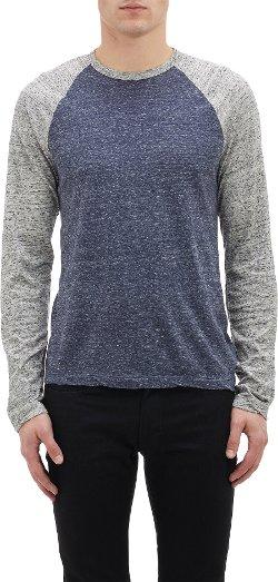 James Perse  - Raglan-Sleeve T-Shirt