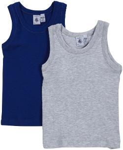 Petit Bateau - Shirt - Gray/Blue