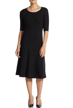 Trina Turk  - Cadence Dropped Waist Sweater Dress