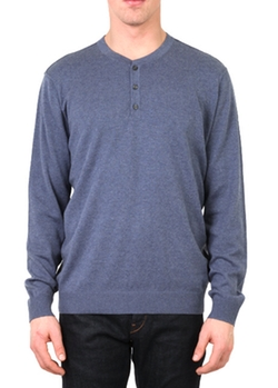 Vince - Long Sleeve Henley Shirt