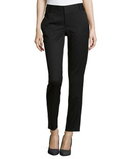 Helmut Lang  - Smoking Wool-Blend Split Waist Pants