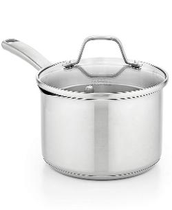 Calphalon  - Classic Stainless Steel 3.5 Qt. Covered Saucepan