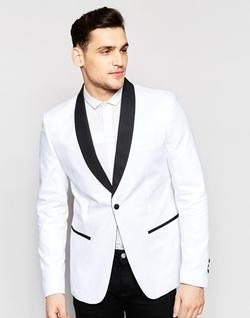 Antony Morato - Tuxedo Blazer in Super Slim Fit