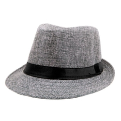 Zhenxia  - Vintage Flax Panama Hat