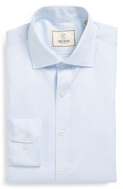 Todd Snyder White Label  - Trim Fit Solid Dress Shirt