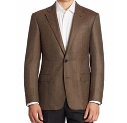 Armani Collezioni  - Virgin Wool & Cashmere Sportcoat