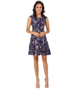 Rebecca Taylor - Sleeveless Garden V-Neck Dress