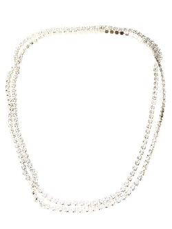 Tom Binns - Long 3 Strand Crystal Necklace