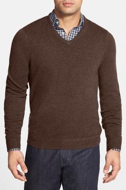 John W. Nordstrom  - Cashmere V-Neck Sweater