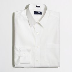 J. Crew Factory - Thompson Voyager Point-collar Dress Shirt