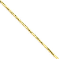 Forever Flawless Jewelry - Polish Classic Franco Link Chain Necklace