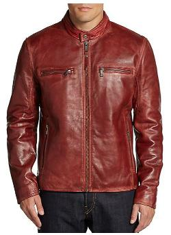 Marc New York By Andrew Marc - Ryder Leather Moto Jacket