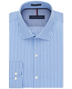 Tommy Hilfiger - Pearl Stripe Dress Shirt