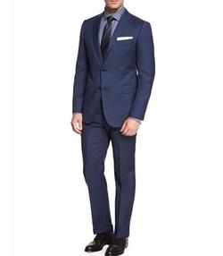Armani Collezioni - M-Line Solid Two-Piece Suit