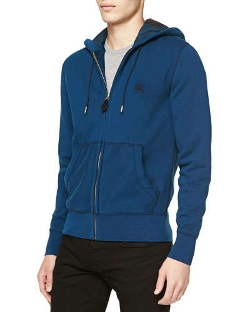 Burberry Brit  - Pearce Zip-Front Hoodie Sweatshirt