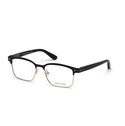 Tom Ford - Shiny Metal Square Eyeglasses