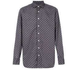 Lardini - Long-Sleeved Patterned Shirt
