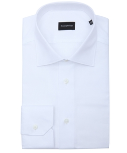 Zegna - Cotton Spread Collar Dress Shirt