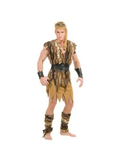 Charades  - Cool Caveman Adult Plus Costume