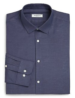 Saks Fifth Avenue Collection - Cotton Dress Shirt