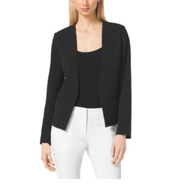 Michael Michael Kors   - Collarless Stretch Blazer